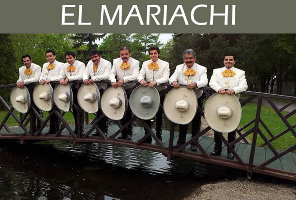 Mariachi Musicians from Montreal's Pret-A-Party