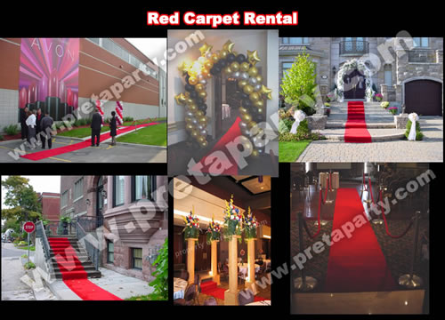 Red carpet rentals from Montreal's Pret-A-Party