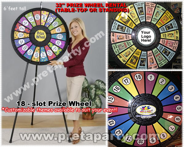 how to build a prize wheel
