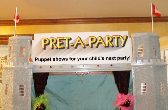 Puppet shows in many popular themes for your child's next party