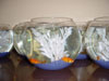 Something original and ALIVE. A traditional fishbowl, complete with water, rocks and decor and a couple of goldfish. As a centerpiece, this is definitely going to get them talking, from Montreal's Pret-A-Party