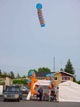 Balloon Cluster Column With Paddle Topper For Sky-Publicity