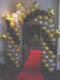 Cluster star entrance with red carpet and lighting